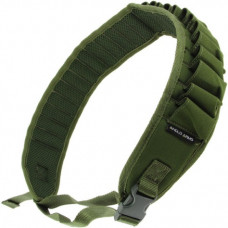 Shotgun Cartridge Belt Holder in Green Holds 26 x 12 bore (013 GRN)