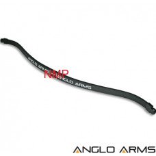 175lb draw replacement fiberglass black Anglo Arms crossbow prod, limbs for 175lb draw for full size crossbow