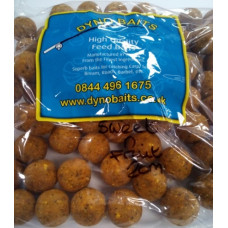 20mm HIGH GRADE COMMANDO SWEET & FRUITY BOILIES 500g DYNO BAITS