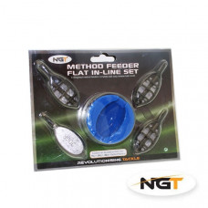 4 + 1 In line Method Feeder and soft touch moulding cap Set