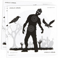Anglo Arms Zombie AIR GUN TARGETS Pack of 50 Card Targets 14cm
