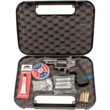 Crosman SNR357 SNR Snub Nose Revolver CO2 Powered, Dual Ammo Full Metal .177 pellet,  with KIT, co2, pellets, BBs, lube and case