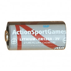 ASG 3V Lithium Battery, CR123A, 1 pcs.