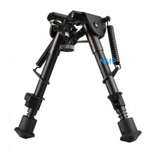 6 inch TO 9 inch Bipod Adjustable legs fit all rifles with a standard QD swivel stud mount