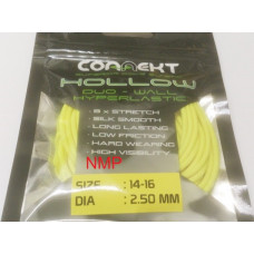 3M Connekt Hollow Duo Wall Pole Fishing Elastic 3 Metres For Top Kits, Yellow Size 14-16 Dia 2.50mm