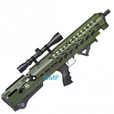 KRAL Breaker Armour PCP Pre Charged Air Rifle 14 shot .177 calibre ARMY GREEN