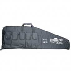 42 inch Milbro Black Tactical Division Combat Gun bag for Airsoft and PCP Air Rifles 42 inch x 12.5 inch