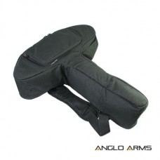 Pistol Crossbow Case Black Padded Bag Anglo Arms 56cm x 48cm x 13cm