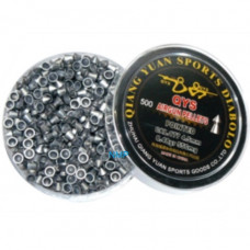 Qiang Yuan Sports, QYS Pointed Airgun pellets .177 calibre 4.50mm 8.48 grains tub of 500 Light