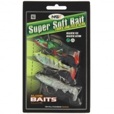 Pack of 3 Super Soft Baits (SB-006)