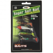 Pack of 4 Super Soft Baits (SB-008)