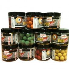 CARP ZOOM HIGH FLAVOUR 16MM POP UP BOILIES 100g Pot BANANA HEMP Flavour