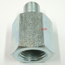 1/8 BSP MALE TO 1/4 BSP FEMALE SILVER ADAPTOR PCP Pre charged fittings
